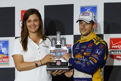 Podium: Second placed Marco Andretti, Andretti Autosport Honda