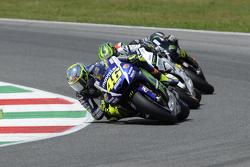 Valentino Rossi, Yamaha Factory Racing and Cal Crutchlow, Team LCR Honda and Bradley Smith, Tech 3 Yamaha
