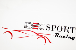 IDEC Sport Racing signage and logo
