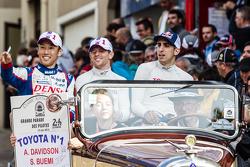 #1 Toyota Racing Toyota TS040 Hybrid: Kazuki Nakajima, Anthony Davidson and Sébastien Buemi