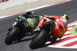Bradley Smith, Tech 3 Yamaha and Andrea Iannone, Ducati Team