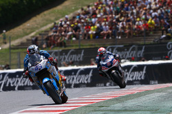 Scott Redding, Marc VDS Racing Honda and Hector Barbera, Avinitia Racing Ducati