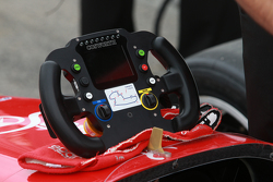 Indy Lights steering wheel