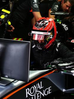 Esteban Ocon, Sahara Force India F1 VJM08 testrijder