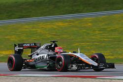 Esteban Ocon, Sahara Force India F1 VJM08, Testfahrer