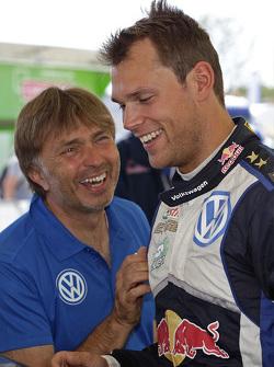Jost Caputo, Andreas Mikkelsen, Volkswagen Motorsport