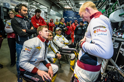 Marc VDS Racing: Maxime Martin shares a lauch with Nicky Catsburg, Augusto Farfus and Jörg Müller