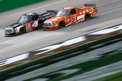 Erik Jones, Kyle Busch Motorsports Toyota and Daniel Suarez, Kyle Busch Motorsports Toyota