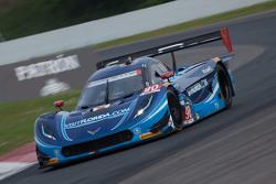 #90 VisitFlorida.com Racing Corvette DP: Richard Westbrook, Michael Valiante