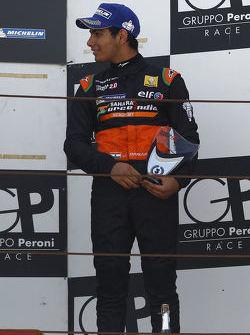 Podium: third place - Jehan Daruvala, Fortec Motorsports