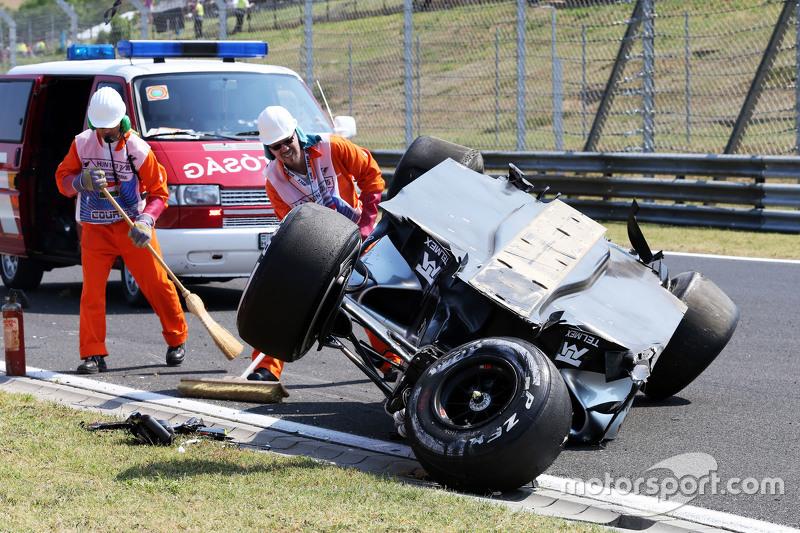 Sergio Perez: Grand Prix von Ungarn 2015 in Budapest