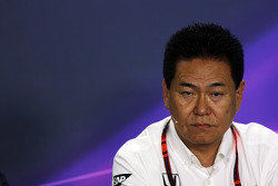 Yasuhisa Arai, Honda Motorsport Chief Officer in the FIA Press Conference