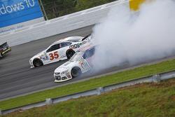 Dale Earnhardt Jr., Hendrick Motorsports Chevrolet spins