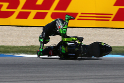 Pol Espargaro, Monster Yamaha Tech 3 crashes