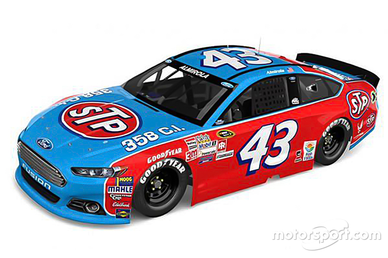 Aric Almirola Richard Petty Motorsports Ford At Darlington