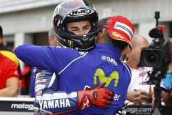 Second place qualifier Jorge Lorenzo, Yamaha Factory Racing