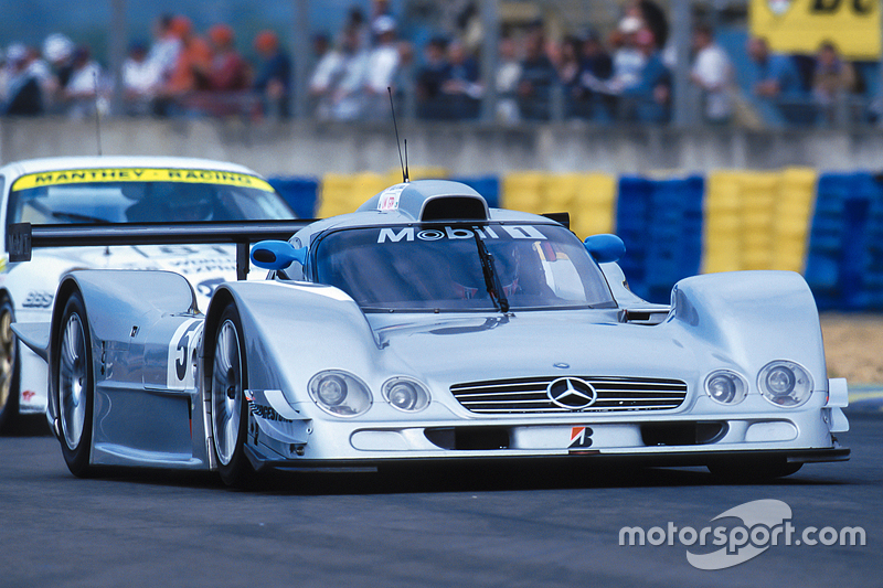 #5 AMG Mercedes CLR LMGTP: Christophe Bouchut, Nick Heidfeld, Peter Dumbreck