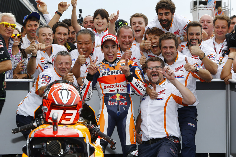 Ganador, Marc Márquez, Repsol Honda Team