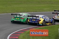 Edoardo Mortara, Audi Sport Team Abt Audi RS 5 DTM and Gary Paffett, ART Grand Prix Mercedes-AMG C63 DTM
