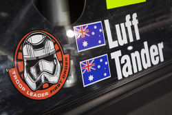 Special Star Wars livery for the Holden Racing Team