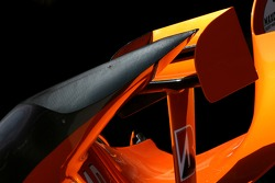 Spyker F1 Team, bodywork detail