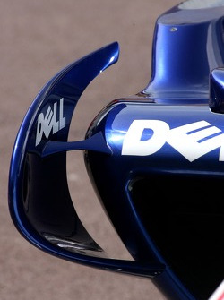 BMW Sauber F1 Team, winglet detail