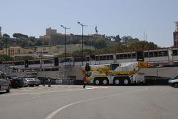 Monte Carlo Circuit track walk