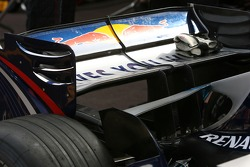 Red Bull Racing, RB3, Rear wing detail