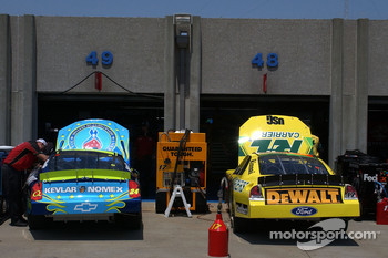 Jeff Gordon and Matt Kenseth