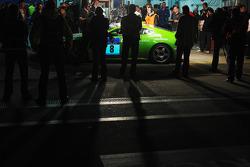 #8 Aston Martin Racing Aston Martin V8 Vantage: Ulrich Bez, Christopher Porritt, Wolfgang Schuhbauer