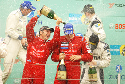 Podium: Champagne for everyone