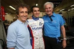 Nicolas Prost, Alain Prost and Hugues de Chaunac