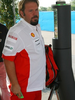 Gino Rosato, Scuderia Ferrari, Security