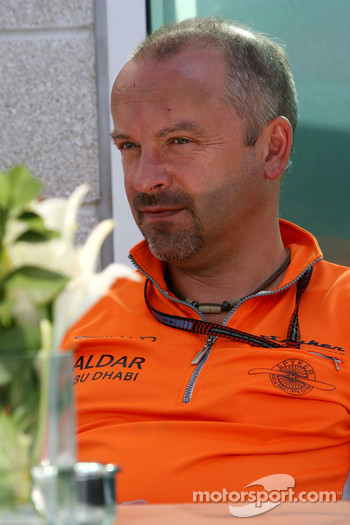 Mike Gascoyne, Spyker F1 Team, Chief Technology Officer