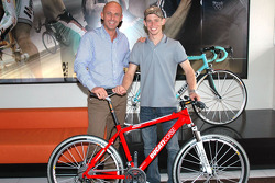 Casey Stoner gets a new mountain bike