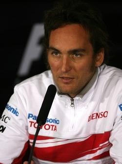 Franck Montagny, Test Driver, Toyota F1 Team