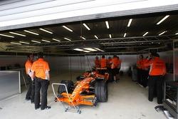 Giedo van der Garde, Test Driver, Spyker F1 Team
