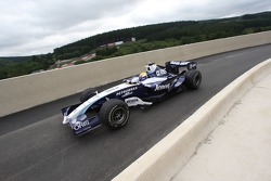Nico Rosberg, WilliamsF1 Team at new Pit Lane entrace