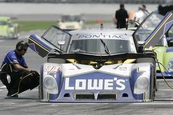 #91 Lowe's Riley-Matthews Motorsports Pontiac Riley: Jim Matthews, Marc Goossens, Jimmie Johnson