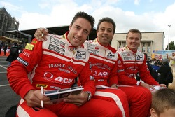 Iradj Alexander-David, Jean-Denis Deletraz and Marcel Fassler
