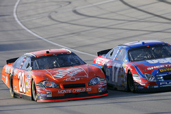 Tony Stewart and Matt Kenseth race door to door