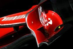 Scuderia Ferrari, F2007, Front wing end-plate detail