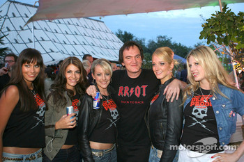 Quentin Tarantino, American Film Director and Formula Una's
