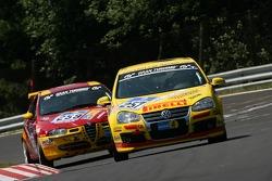 #257 Marc Hoyer VW Golf GT: Jim Briody, Ralf Kraus