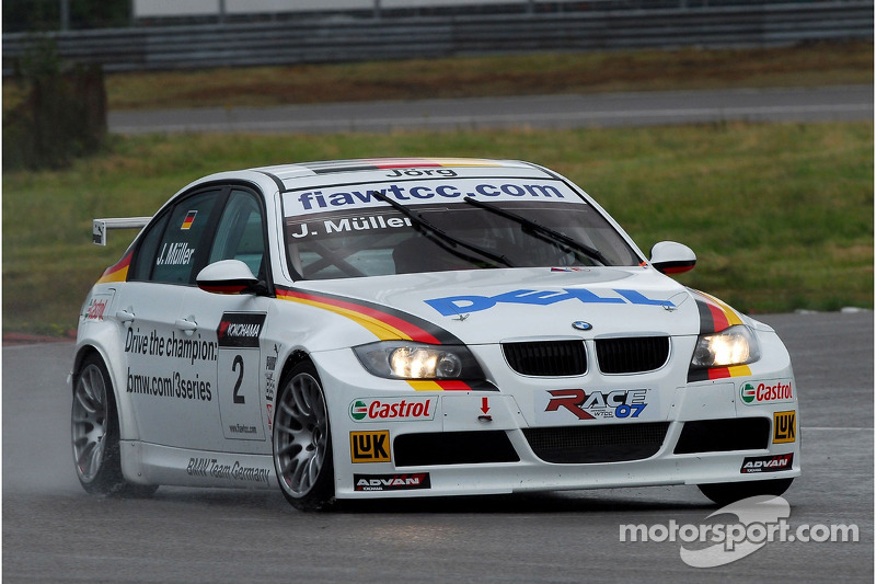 Jorg Muller Bmw Team Germany Bmw 320si Wtcc At Anderstorp
