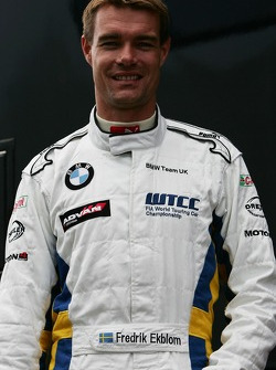 Frederik Ekblom, BMW Team UK, BMW 320si WTCC