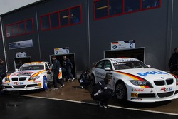 Jorg Muller, BMW Team Germany, BMW 320si WTCC and Felix Porteiro, BMW Team Italy-Spain, BMW 320si WTCC