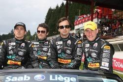 Stéphane Lemeret, Miguel Ramos, Christian Montanari and Matteo Bobbi