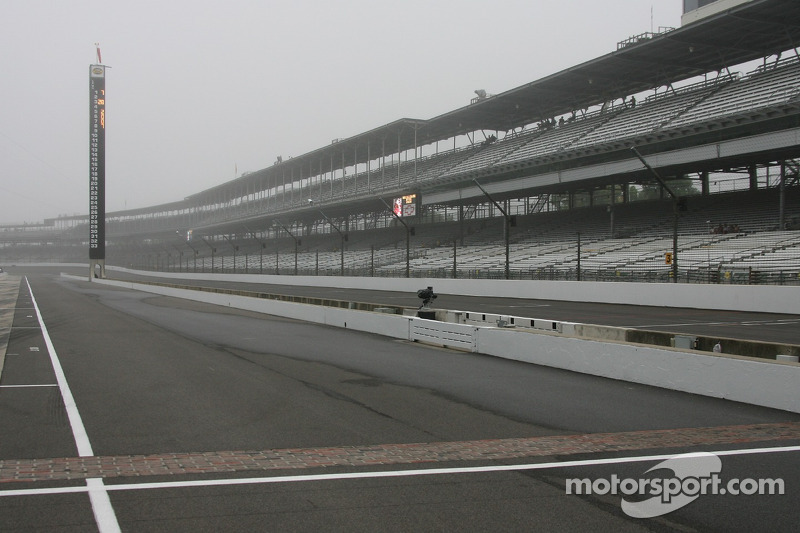 Early morning fog settles in over IMS facility