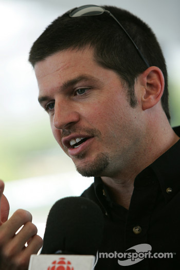 Pre-event press conference: Patrick Carpentier talks with the media